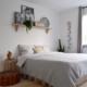 duurzaam slapen bed, beddengoed, verf, slaapkamer, vloerafwerking, wandafwerking, gordijnen, planten