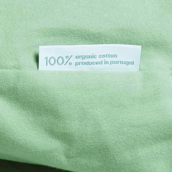 Yumeko dekbedovertrek kussensloop beddengoed duurzaam katoen groen