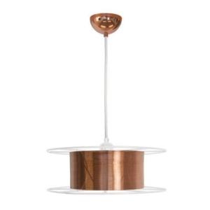 Duurzame hanglamp spool van Tolhuijs Design