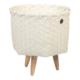 Handed By Dimensional opbergen, gerecycled plastic, fairtrade eerlijke productie, handgevlochten wasmand
