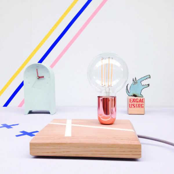 studio hamerhaai verlichting lamp hout gerecycled