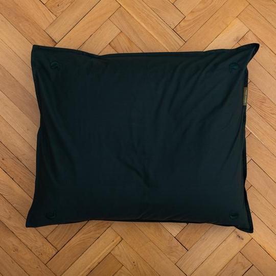 four leaves beddengoed bio fair-trade Junior duvet Kandalama Modern pillow wood
