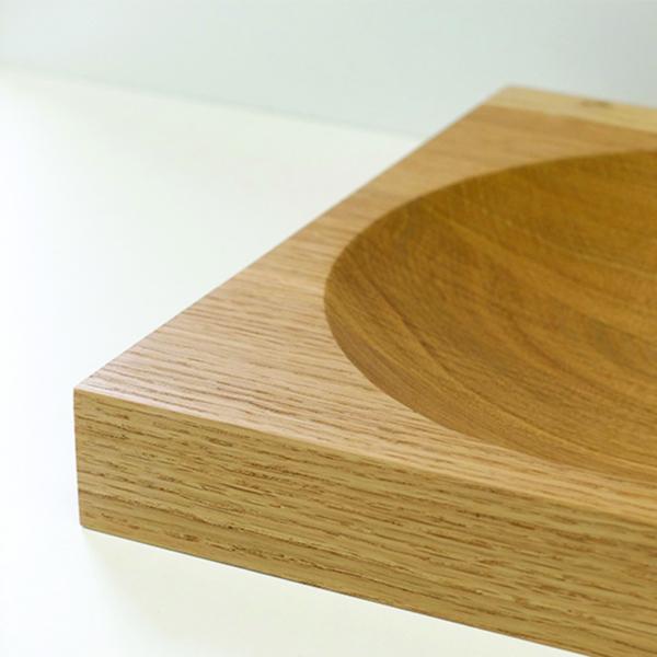 fruitschaal Creux eiken Meukk circulair hergebruik hout
