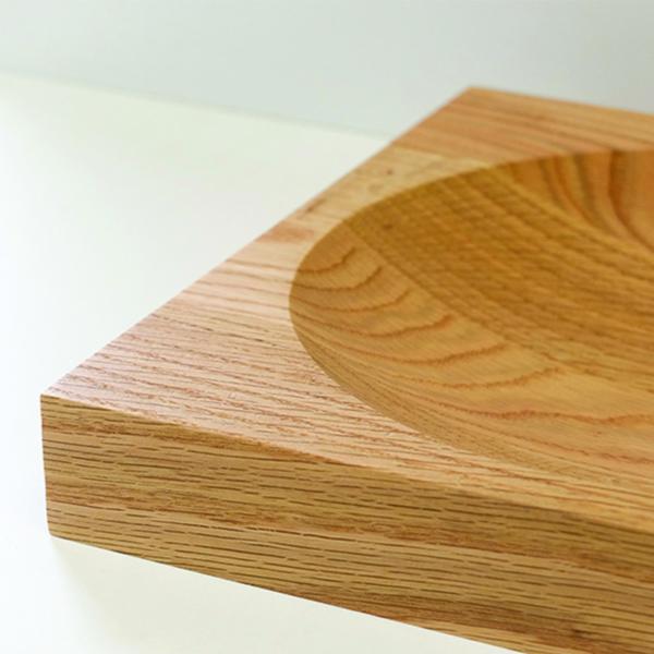 fruitschaal Creux essen Meukk circulair hergebruik hout