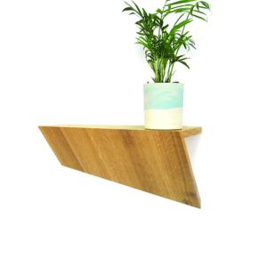 wandplank Cliffhanger eikenhout Meukk